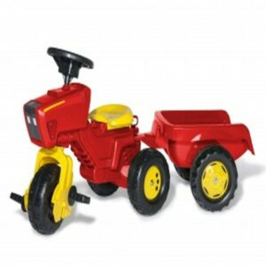 Rolly Red 3 Wheeled Tractor